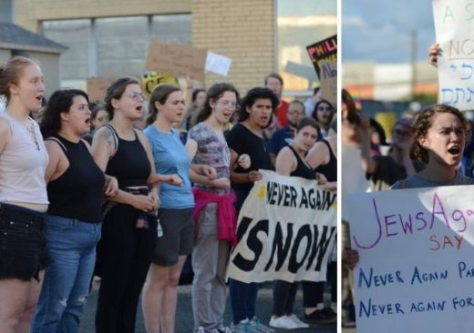 Jewish Protesters Concentration Camps