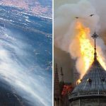 Amazon Rainforest Burns Notre Dame Fire