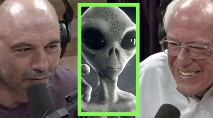 Bernie Sanders Aliens Joe Rogan