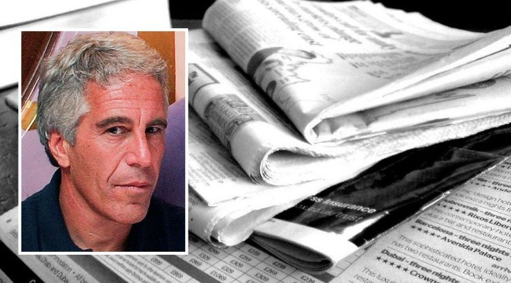 Jeffrey Epstein Pitched Narrative Mainstream Media Published