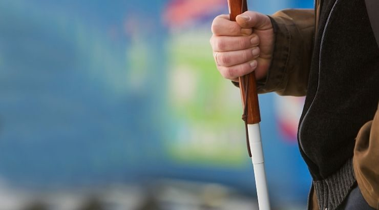 Blind Man Invents Smart Cane That Uses Google Maps And
