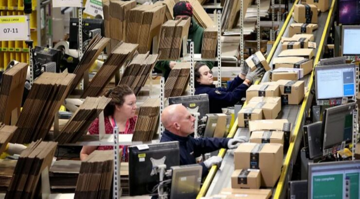Amazon Workers Protest After Woman Fired for Spending Extra Hour With Dying Relative