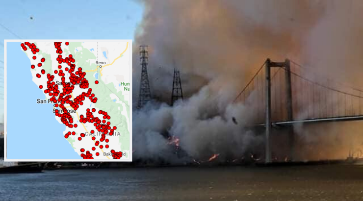 California PG&E Fires