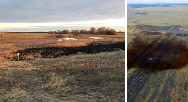 Latest Keystone Pipeline Oil Spill is Nearly 10 Times Worse Than Initially Thought Keystone-leak-worse-740x400