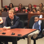 Adoption Hearing Boy's Entire Kindergarten Class