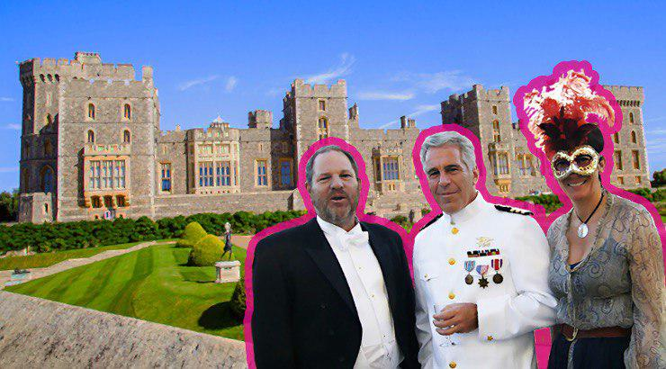 Epstein Harvey Weinstein Princess Party