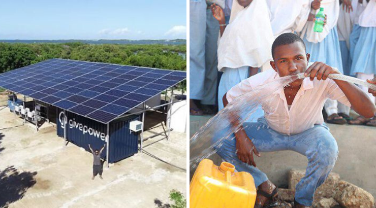 Solar Plant Turns Ocean Water Into Drinking Water