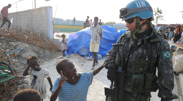 UN Peacekeepers Fathered Hundreds of Babies With Girls in Haiti