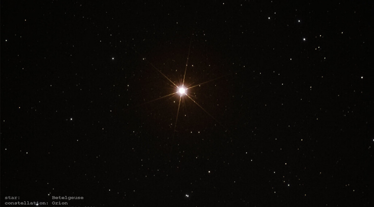 Betelgeuse Supernova