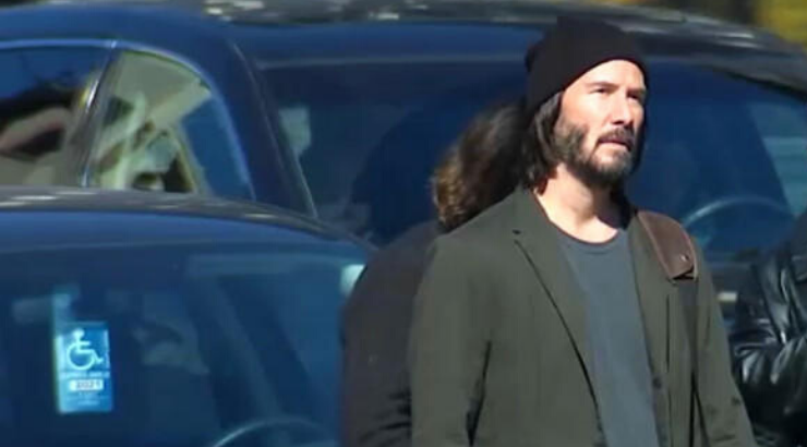 Keanu Reeves Matrix 4