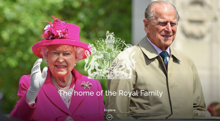 Website Royal Family